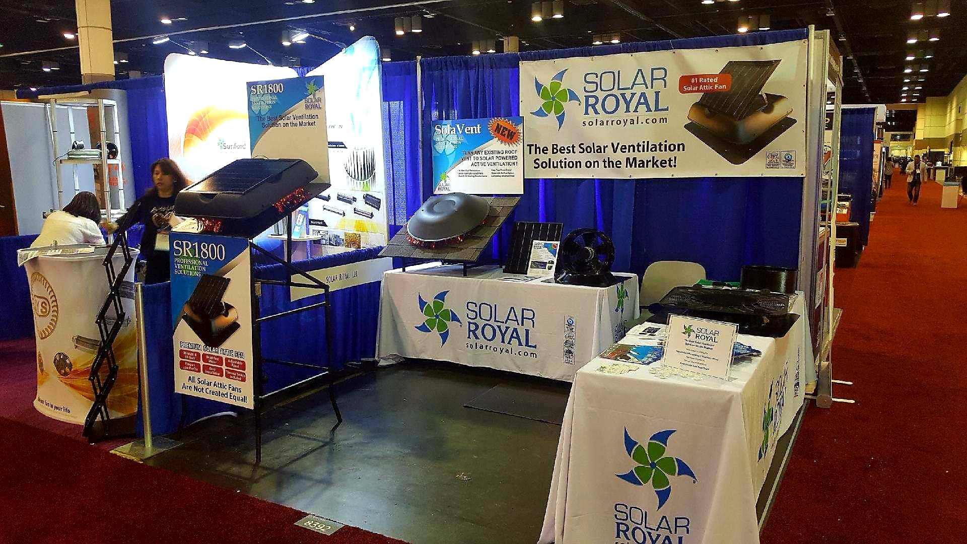 Solar Royal Booth