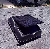Solar Powered Attic Fan helps you harness harmful UV rays to protect your roof
