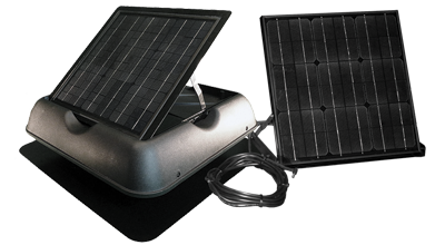 50watt solar attic fan
