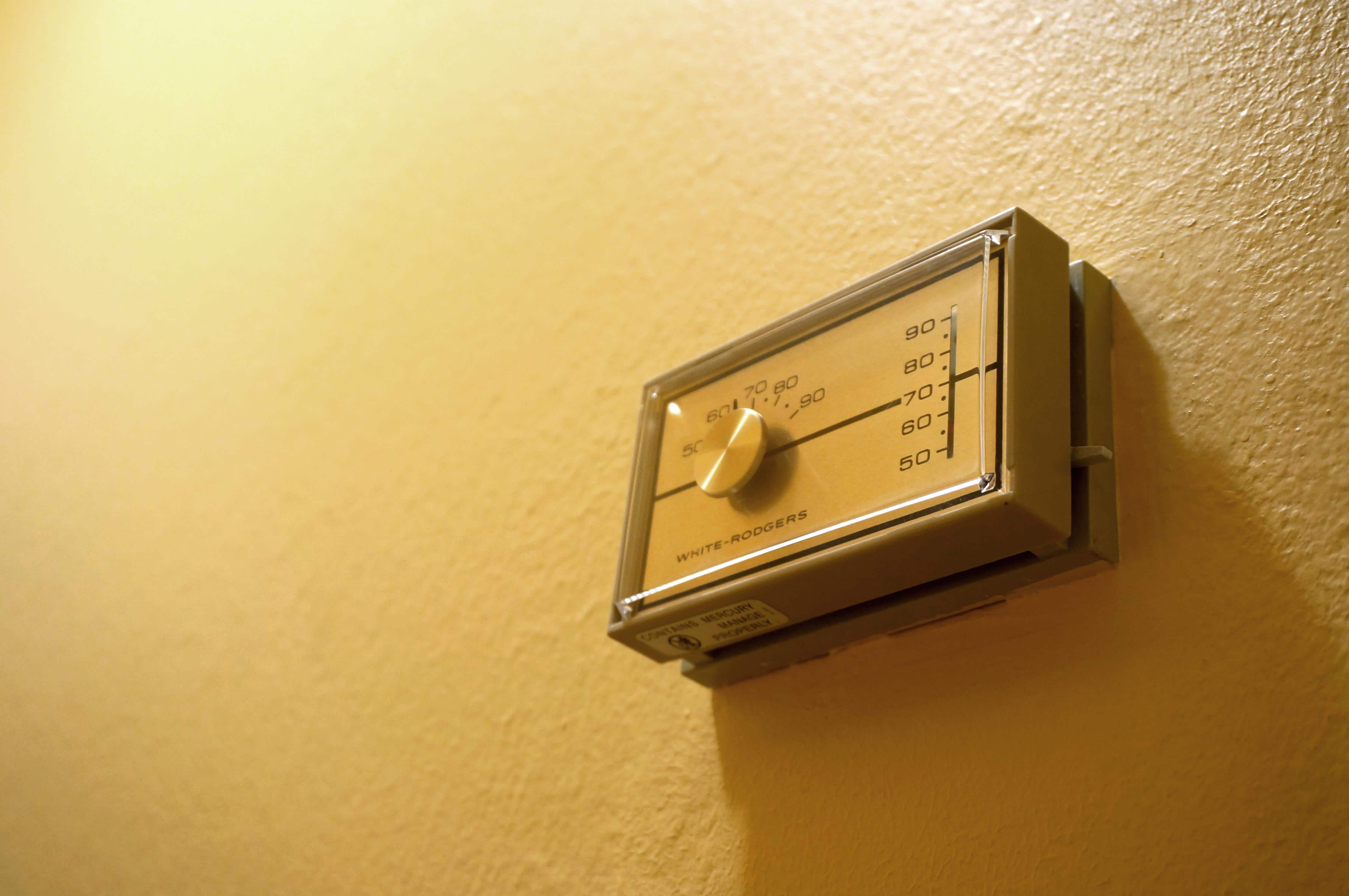 turn down the heat to save money