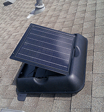 solar attic fans, solar powered attic fan ventilation