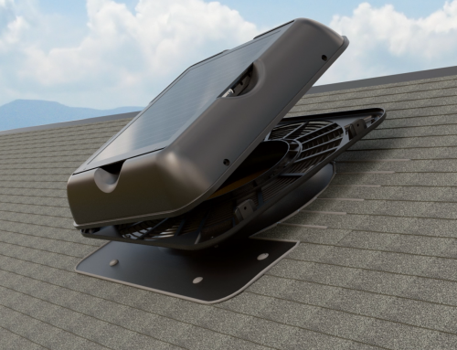 Hood Removal Overview for the SR1800 Series Solar Attic Fan