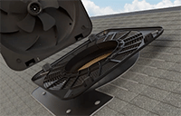attic fans, solar attic fans, solar powered attic fan ventilation