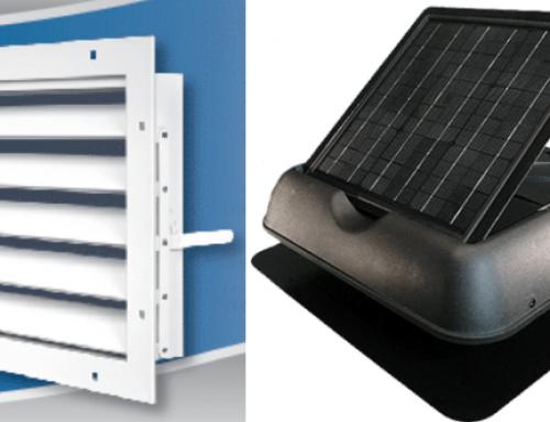 Active Ventilation vs. Passive Ventilation
