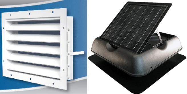 active ventilation vs passive ventilation