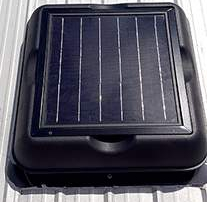 Solar Powered Attic Fan, Solar Attic Vent