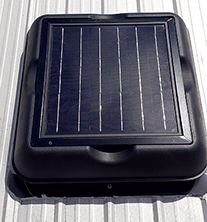 solar attic fans, solar powered attic fan ventilation, attic fan
