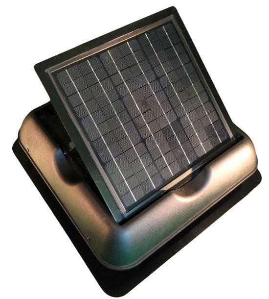 slar royal sr1800 mount photovoltaic solar fan