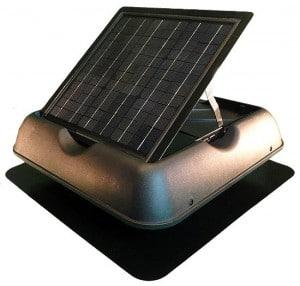 SolarRoyal's premium design for solar attic fans and solar ventilation fans, the best solar exhaust fan on the market.