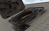 sr1800 solar attic ventilation fan removal guide