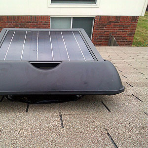 maintain your solar attic fan